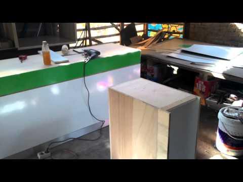 Pembuatan Culinary Island booth