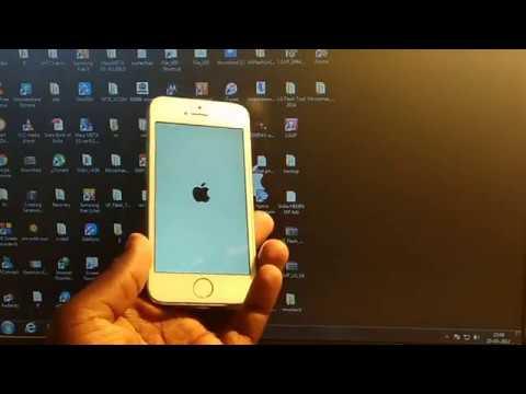 Cara mudah melakukan flashing / instal ulang pada iphone 5 dan iphone 5s mengatasi perangkat di nona.