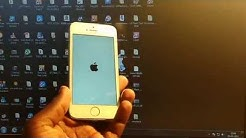 how to fix Iphone 4/4S/5/5S/5C/6/6S stuck on apple logo screen|| complete solution||