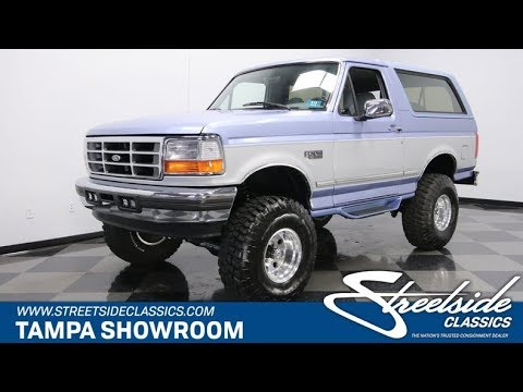 1996 ford bronco xlt 4x4 for sale 1924 tpa youtube 1996 ford bronco xlt 4x4 for sale