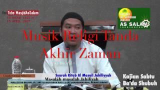 Download lagu Musik Religi Tanda Akhir Zaman Ust Oemar Mita Lc Masjid As Salam MP3