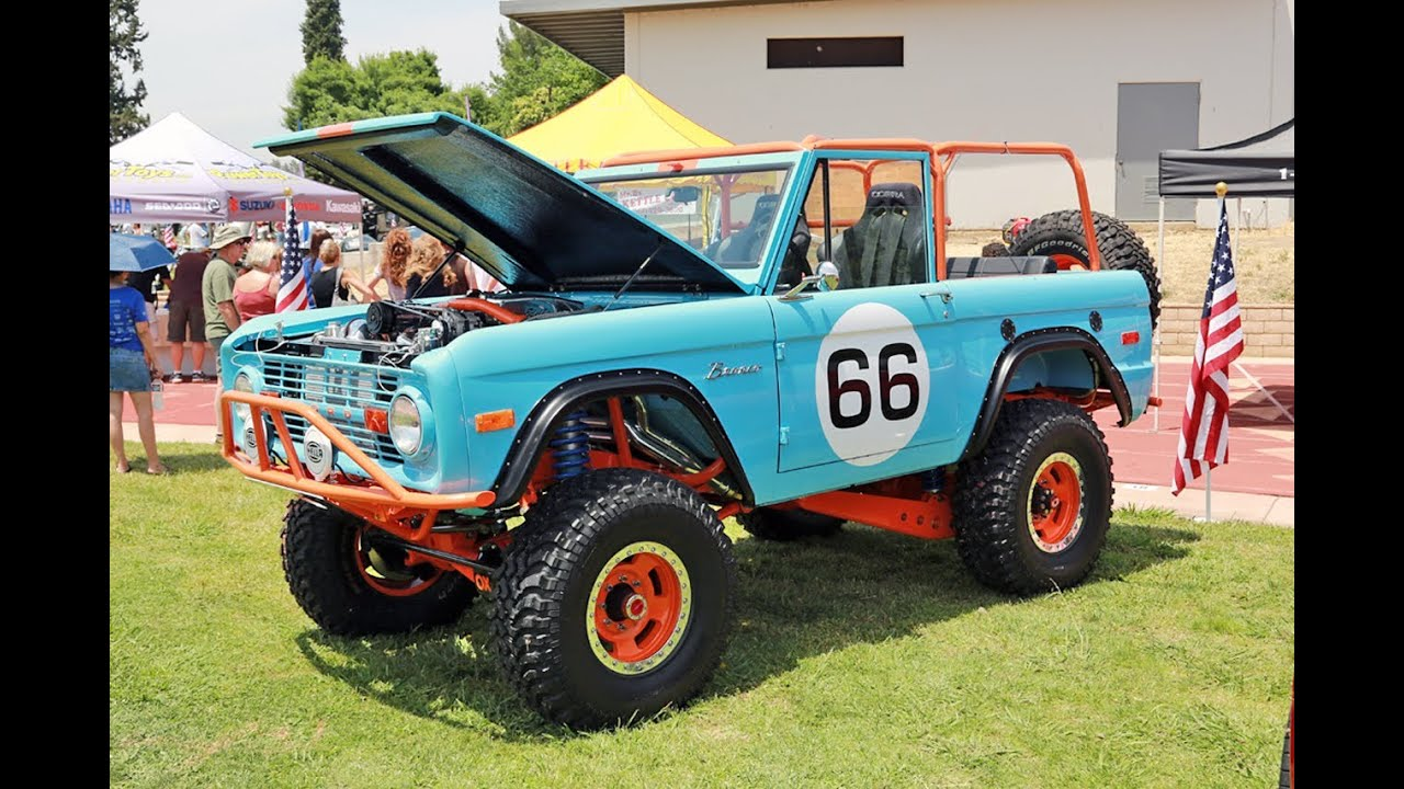 1966 Custom Ford Bronco By Galpin Auto Sports