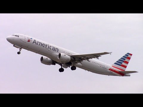 Afternoon Plane Spotting at Charlotte Douglas Int'l Airport | March 10, 2018
