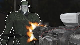 DEFEATING MR X with AUTO TURRETS? - Garry's Mod Gameplay - Gmod Zombie Survival Roleplay
