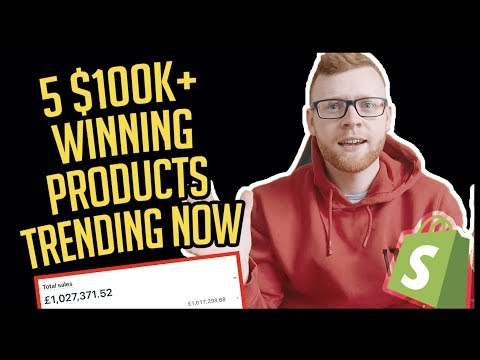 YOU WON'T BELIEVE THESE 5 WINNING SHOPIFY DROPSHIPPING PRODUCTS thumbnail