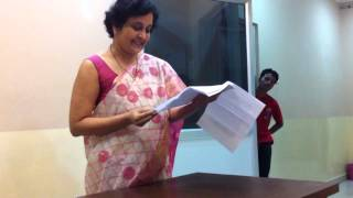 Unfolding the Persona- Aaswad Waghmare By Mrs. Meenal Parkhi