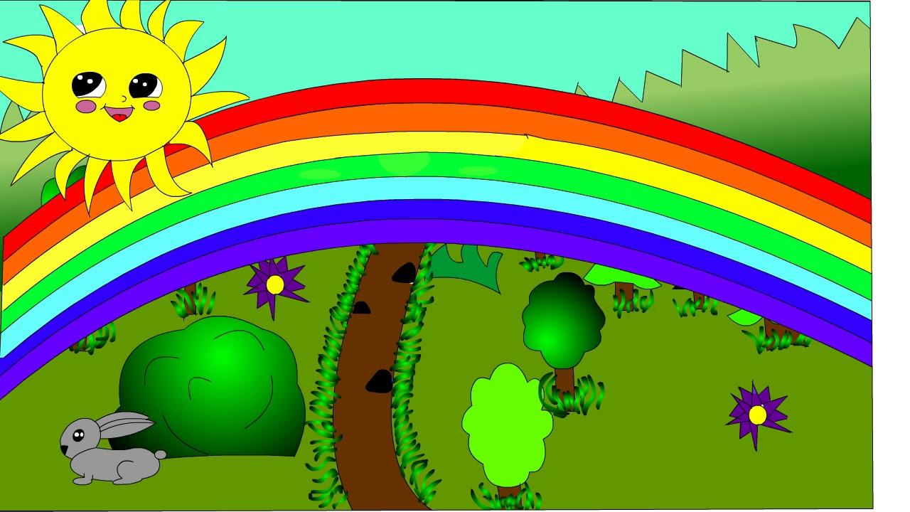 Солнце и радуга - YouTube