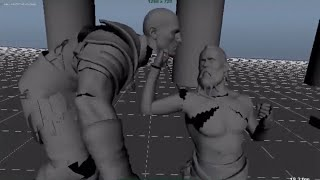 Early Prototype Footage of the Stranger Fight in God of War!