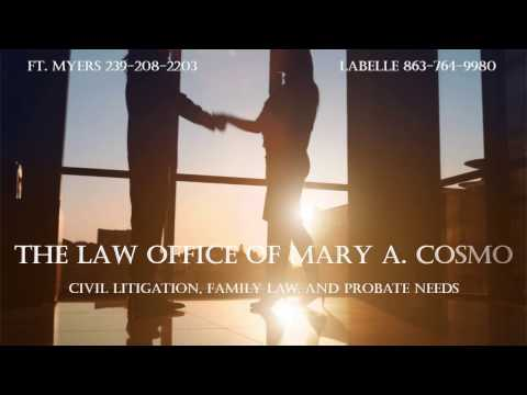 Family Law Minute with Attorney Cosmo - You Tube Channel