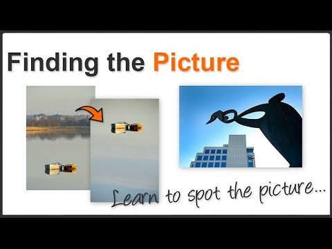 Photography Composition finding the picture