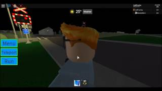 ROBLOX | NewBuildmini's Birthday Train passes Carlton Lane Number 2 LC
