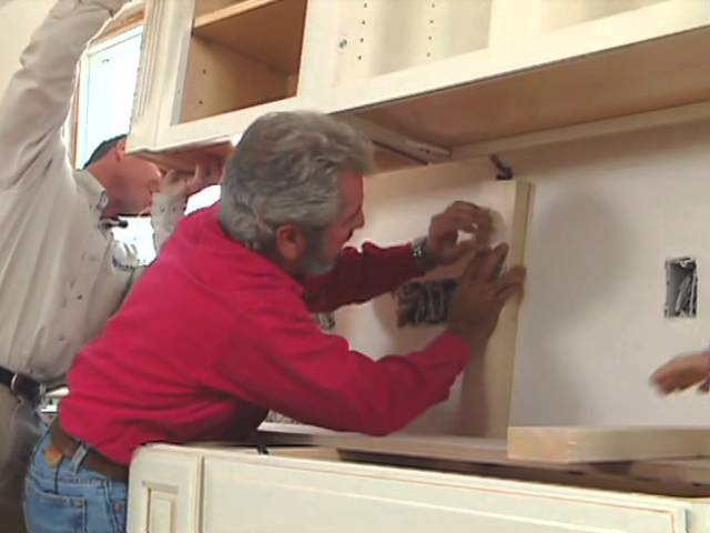 How To Install Kitchen Cabinets Modern Colonial Home Bob Vila