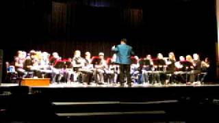 Nepean High School Senior Concert Band plays Themes from Slaughter on Tenth Avenue