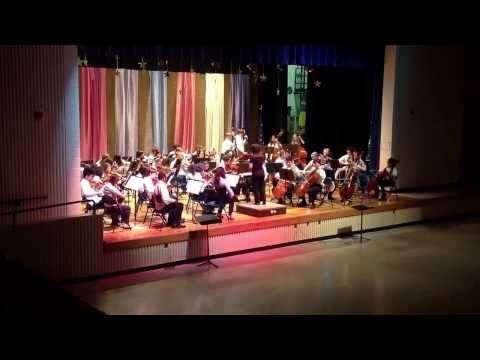Gruening Middle School Advanced Orchestra's rendition of Spartacus by B. Balmages.