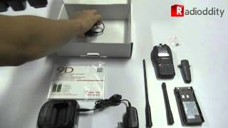 Unboxing WouXun KG-UV9D Multi-Band 136-174/400-480MHz Air Band 5W Two Way Radio
