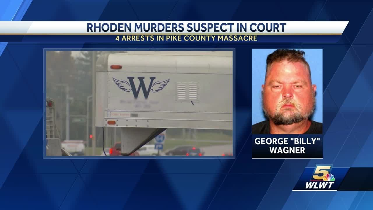 White man charged in mass murder of family to appear in court