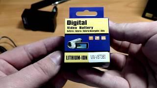 аккамулятор VW-VBT380 для камер панасоник с алиэкспресс | полный обзор и тест
