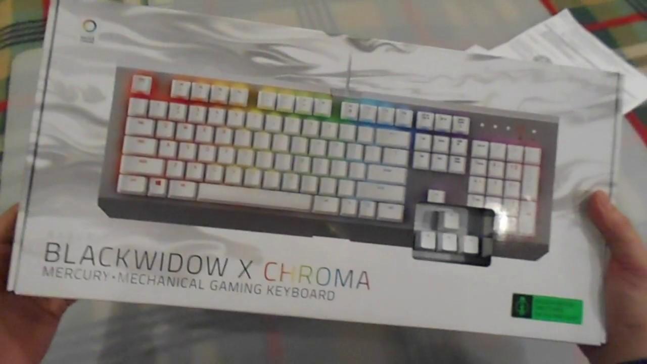 razer blackwidow x chroma mercury edition купить