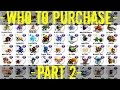Monster Legends | Who to Purchase | Crazy Week Sale | Part 2 (Dark, Magic, Light, Metal)