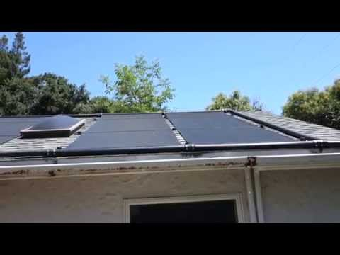 FAFCO SunSaver (4x12) / POCO pool solar panel leaks - 2 years old