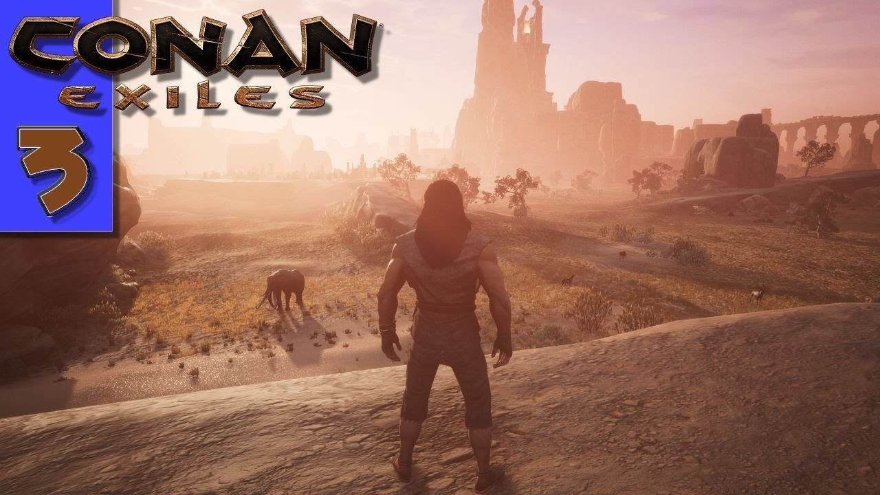 Conan Exiles Teachers Map Room And A Journey To