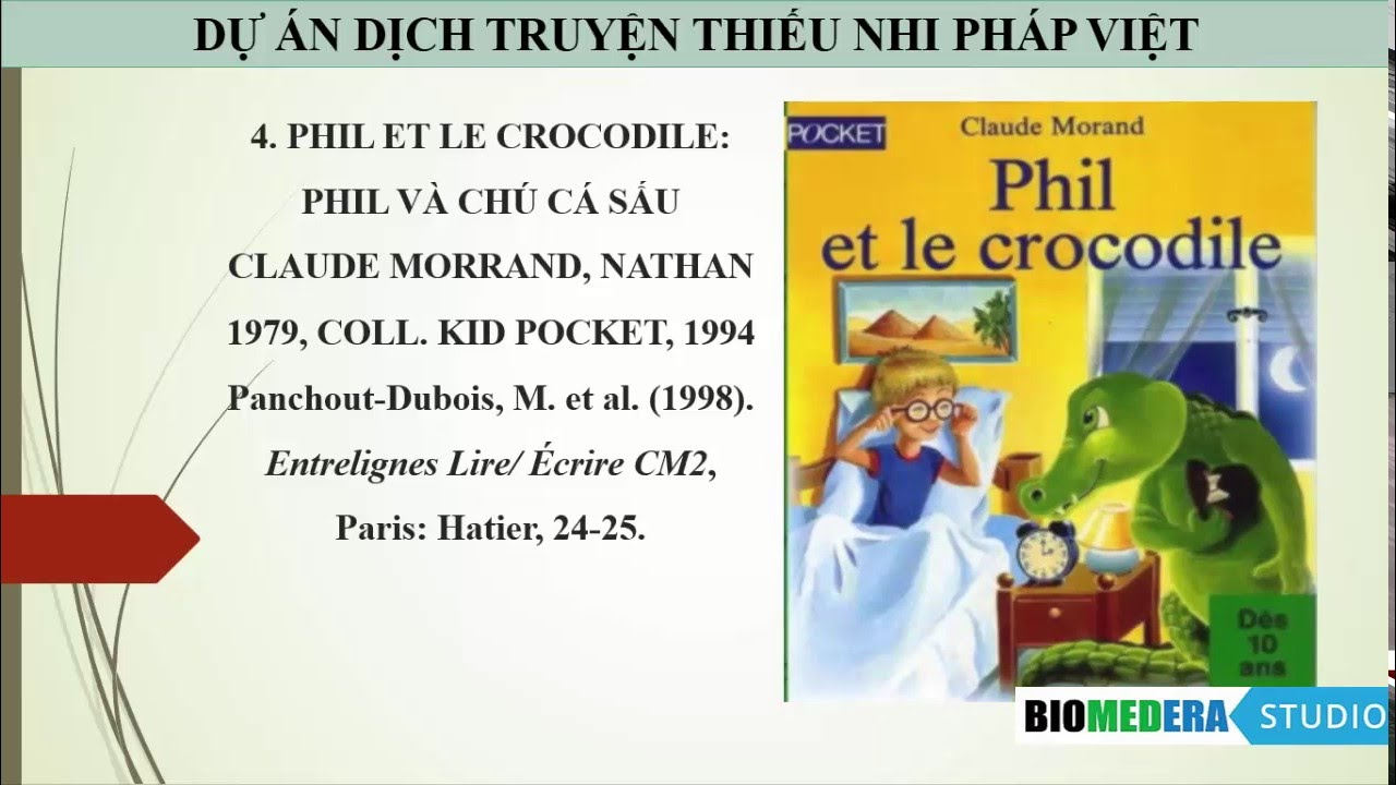 [Truyện Dịch] Phil và chú cá sấu (Phil et le crocodile, phần 1)