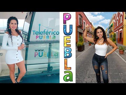 PUEBLA, QUÉ HACER!!?   Teleférico, Iglesias, Rest., Barrios