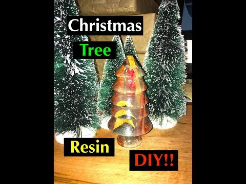 DIY: How to Make an Epoxy and Wood Christmas Tree Ornament from Stone Coat Countertops Casting Resin