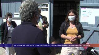 Yvelines | La ministre des Sports au chevet du Centre Équestre du Perray-en-Yvelines