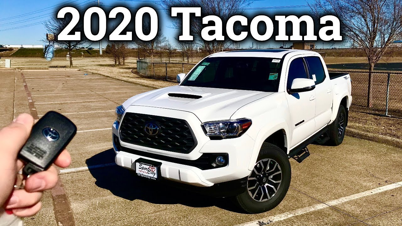2020 Toyota Tacoma Research New