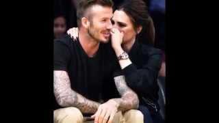 David Beckham and Victoria Beckham love love love