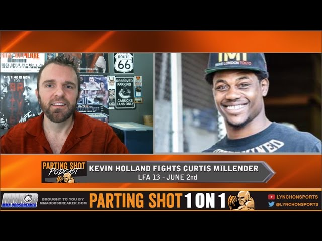 "LFA 13's Kevin Holland ""Curtis Millender has only fought one trick ponies"""