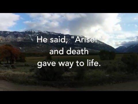 Arise! - Adam Morgan (Lyric Video)