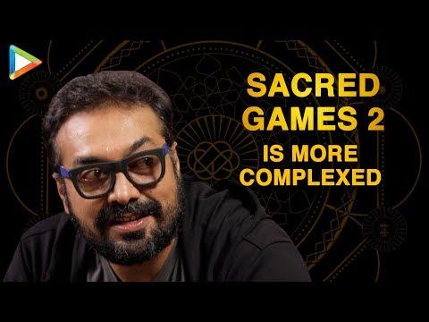"""I Wanted Ram Gopal Verma To Play Role So ..""   Anurag Kashyap   Sacred Games 2   Neeraj Ghaywan"