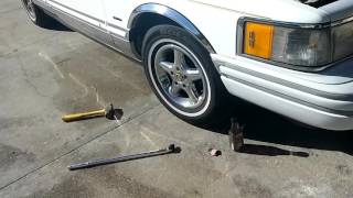 Remove Gorilla Locking Lug Nuts With Out The Key