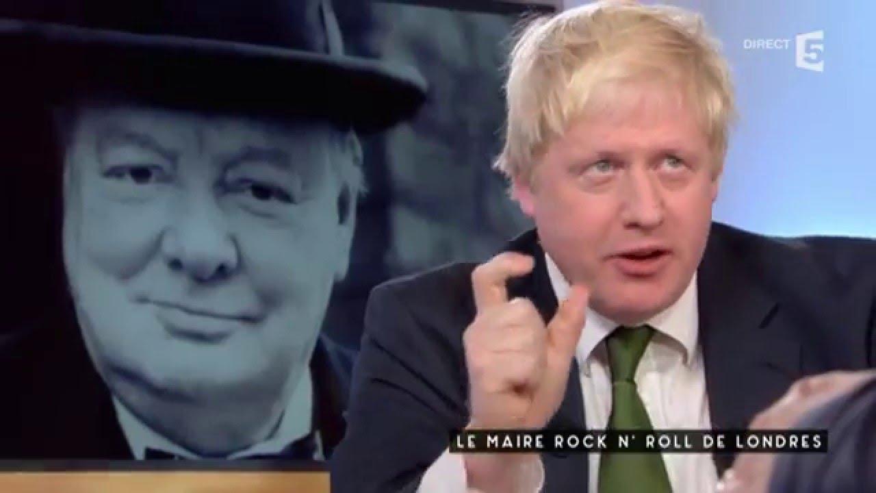 Le Maire Rock'n'Roll de Londres - C à vous - 03/12/2015
