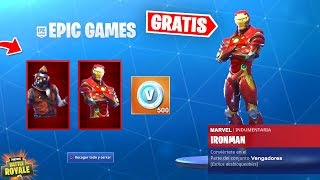 ¡¡ESTA ES la NUEVA SKIN de FORTNITE X AVENGERS!! ✅ (Evento Marvel Fortnite)