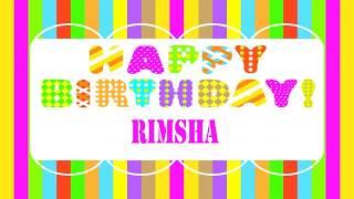 Rimsha   Wishes & Mensajes - Happy Birthday