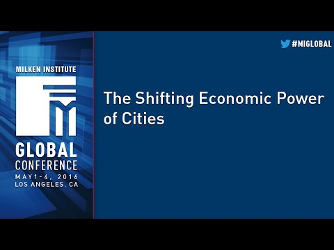 The Shifting Economic Power of Cities