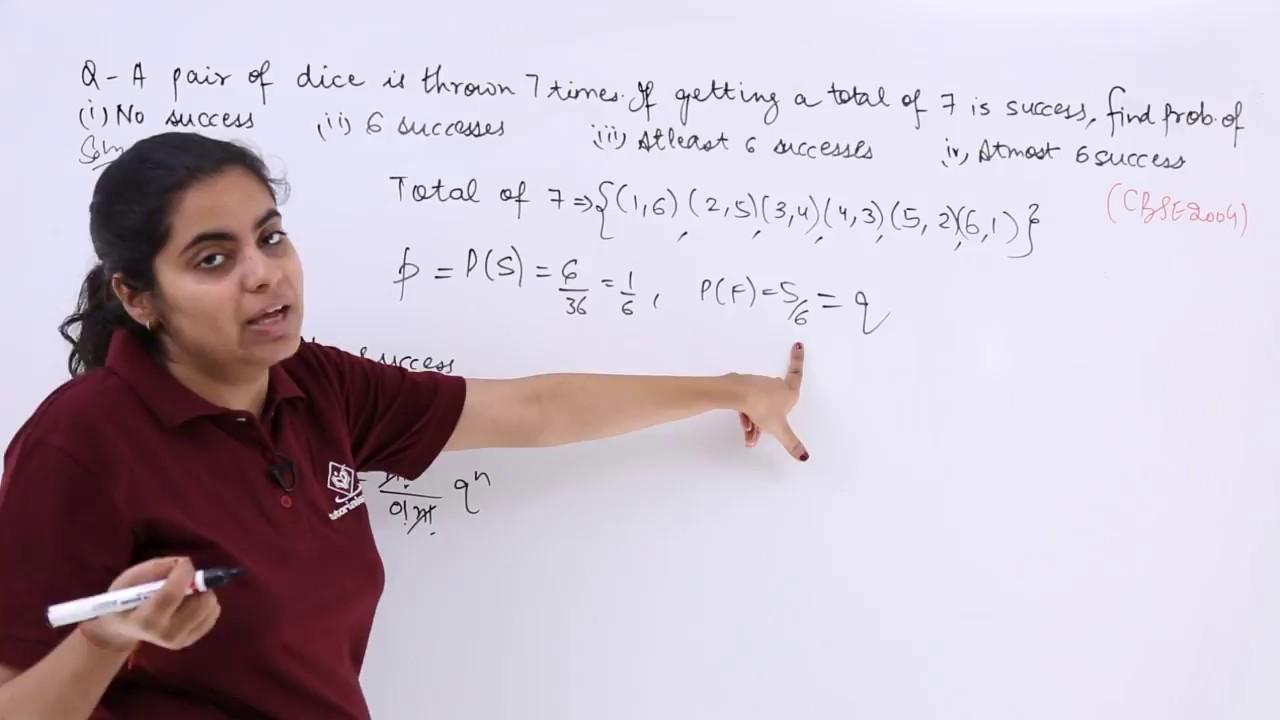 Binomial Distribution & Bernoulli Trials Problem 1