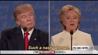 Trump Calls Clinton A Nasty Woman During Final Presidential Debate | What's Trending Now
