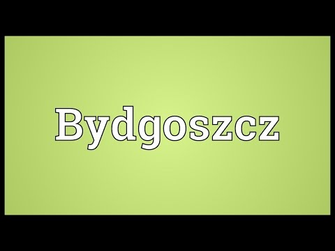 Bydgoszcz Meaning