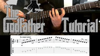 How To Play GodFather Theme On Guitar | Deep Tutorial | İBRAHİM BİRDAL