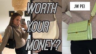 JW PEI handbag review Vegan leather Worth it AFFORDABLE alternative to designer bags 2020