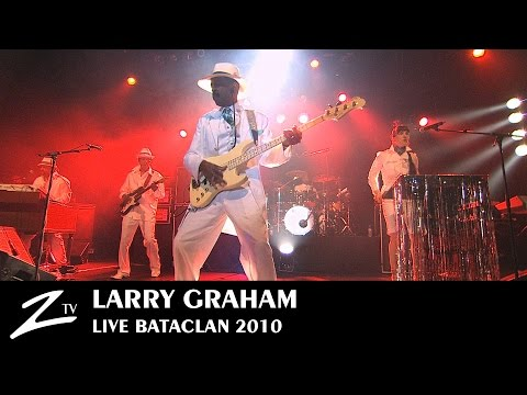 Larry Graham - Bataclan Paris - Full LIVE HD