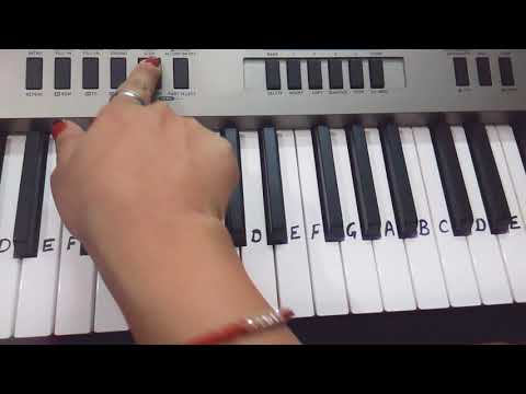 Jara der thahro raam | Keyboard Tutorial|Harmonium|Piano|Step by step