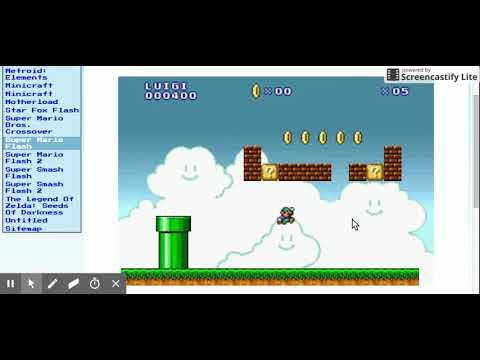 Super Mario Flash 64master Games Unblocked Games Youtube