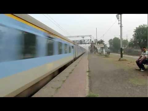 Thunder bolt attack by Bhopal Shatabdi express.