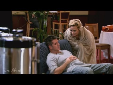 Demi Lovato and Simon Cowell - Funniest moments on The X Factor - Season 3 (5/8) LEGENDADO