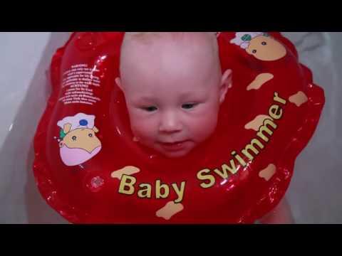 Круг для купания младенцев.  Видео-инструкция